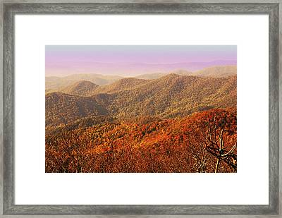 Smokey Mountains Framed Print by Will Burlingham