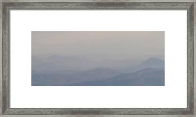 Smokey Ripples 2 Framed Print by Peter  McIntosh