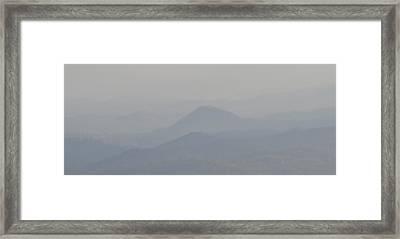 Smokey Ripples Framed Print by Peter  McIntosh