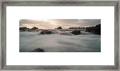 Smokey Water Framed Print