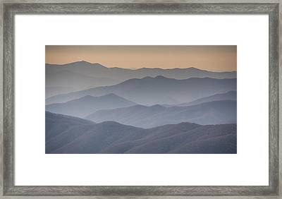 Smokies Framed Print