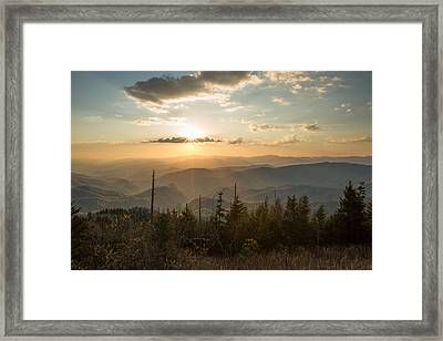 Smokies In Spring Framed Print by Doug McPherson