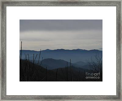 Framed Print featuring the photograph Smokies by Jeanne Forsythe
