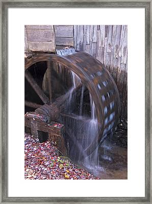 Smokies Mill Framed Print by Dennis Cox WorldViews