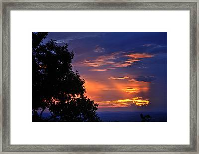 Smokies Sunset 3 Framed Print