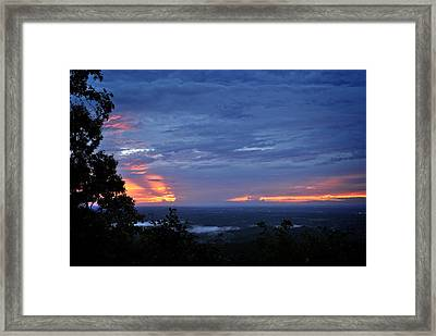 Smokies Sunset 4 Framed Print