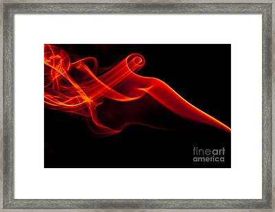 Smokin Framed Print by Anthony Sacco