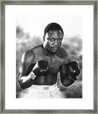 Smokin' Joe Framed Print