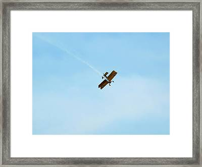 Smokin Framed Print by Thomas Young