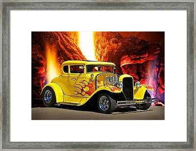 Smok'n Hot Coupe Framed Print by Dave Koontz