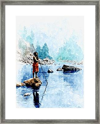 Smoky Day At The Sugar Bowl Framed Print