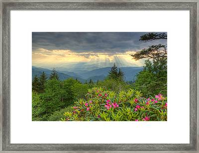 Mountain Grandeur Framed Print by Doug McPherson