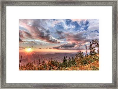 Smoky Mountain Lookout Framed Print