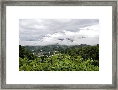 Smoky Mountain Mist Framed Print