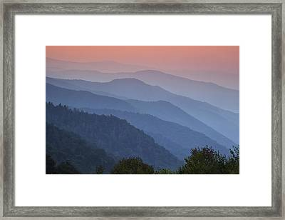Smoky Mountain Morning Framed Print by Andrew Soundarajan