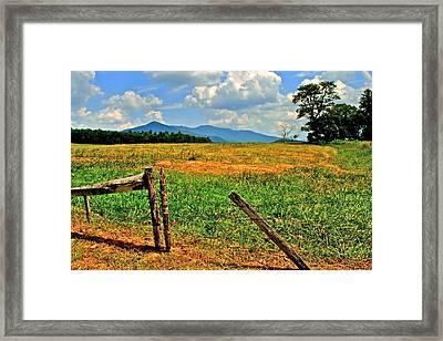 Smoky Mountain National Park Framed Print