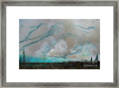 Smoky Mountain Framed Print by R Kyllo