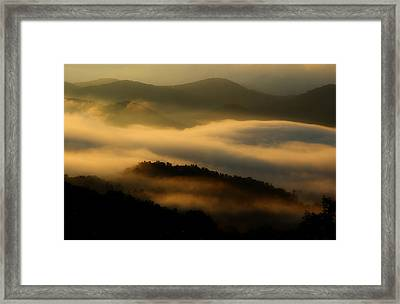 Smoky Mountain Spirits Framed Print