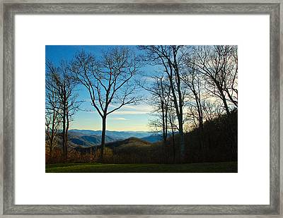 Smoky Mountain Splendor Framed Print by Dee Dee  Whittle