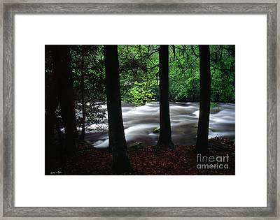 Smoky Mountain Stream #2  2009 Framed Print