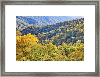 Smoky Mountain Valley Framed Print