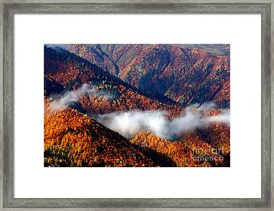 Smoky Mountains Framed Print by Arie Arik Chen