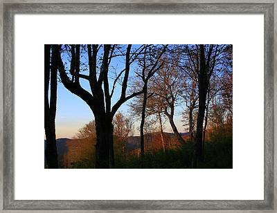 Framed Print featuring the photograph Smoky Mountains North Carolina by Mountains to the Sea Photo