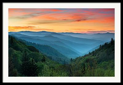 Gatlinburg Framed Prints