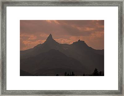 Smoky Sunlight Framed Print