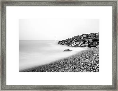 Framed Print featuring the photograph Smoky Water. by Gary Gillette