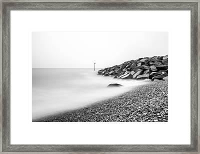 Smoky Water. Framed Print