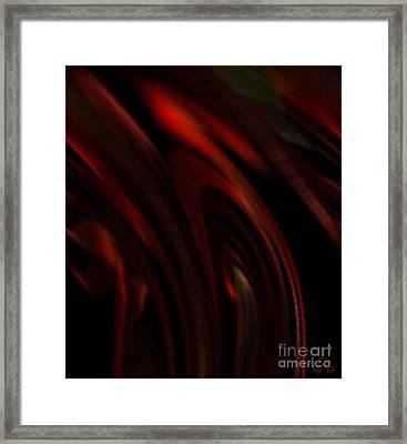 Smoldering Framed Print by Patricia Kay