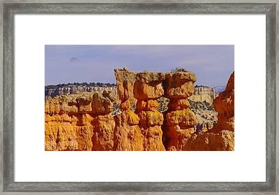 Smooching Rocks Framed Print