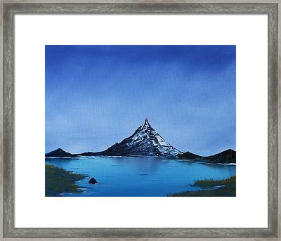 Smooth As Glass Framed Print by Jennifer Muller