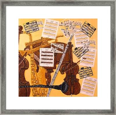 Smooth Jazz Framed Print