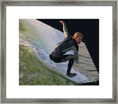 Smooth Ride Framed Print by Mariola Bitner