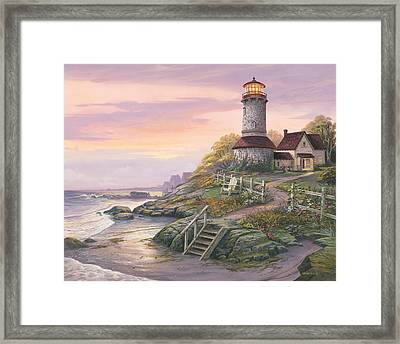 Smooth Sailing Framed Print by Michael Humphries