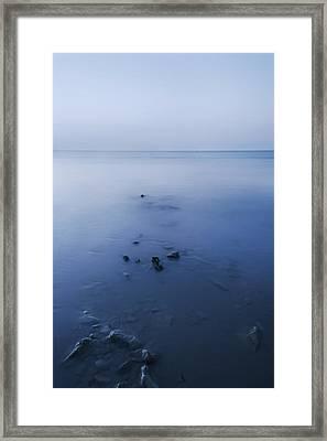Smooth Sea Framed Print by Svetlana Sewell