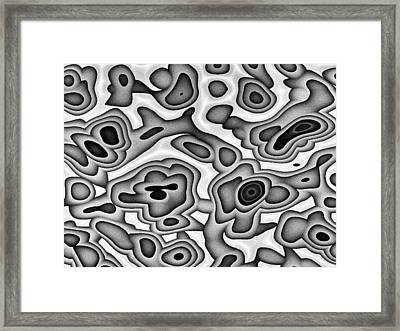 Smooth Stones Framed Print by Jeff Iverson