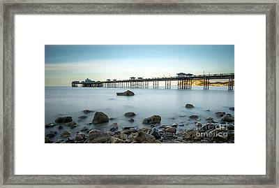 Smooth Waters Framed Print