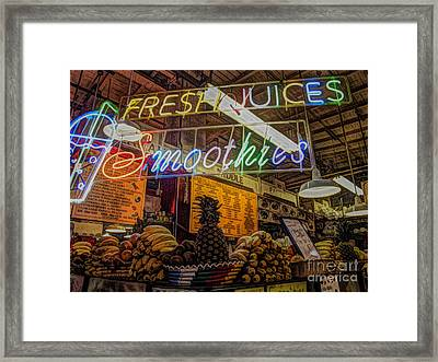 Smoothies Framed Print