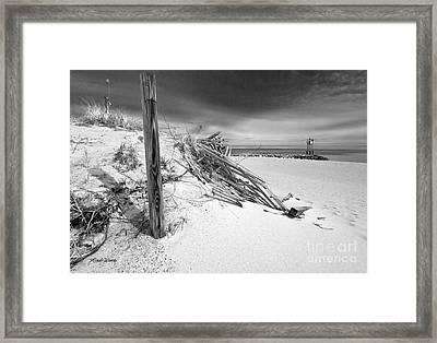 Smugglers Beach Framed Print
