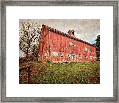 Smyrski Farm  Framed Print by Bill Wakeley