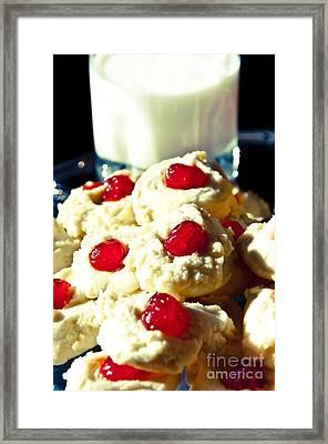 Snack Time Framed Print by Cheryl Baxter