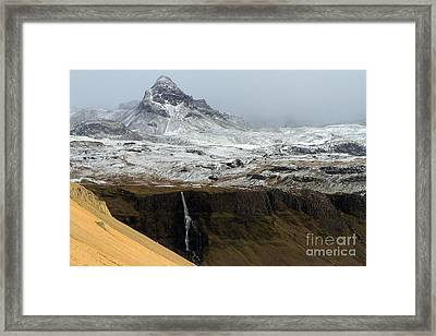 Framed Print featuring the photograph Snaefellsnes Peninsula #1 by Paula Guttilla
