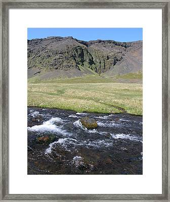 Snaefellsness Framed Print by Christian Zesewitz