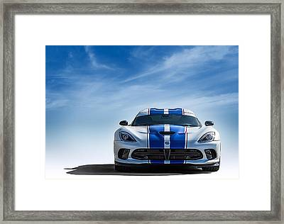 Snake Eyes Framed Print