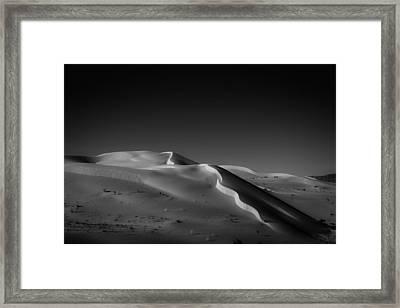 Snake Dune Framed Print by Peter Tellone