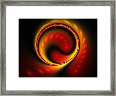 Snake Pit Framed Print