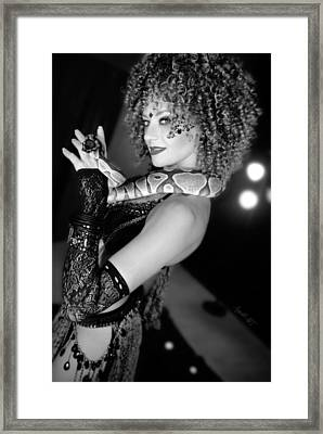 Snake Priestess Framed Print
